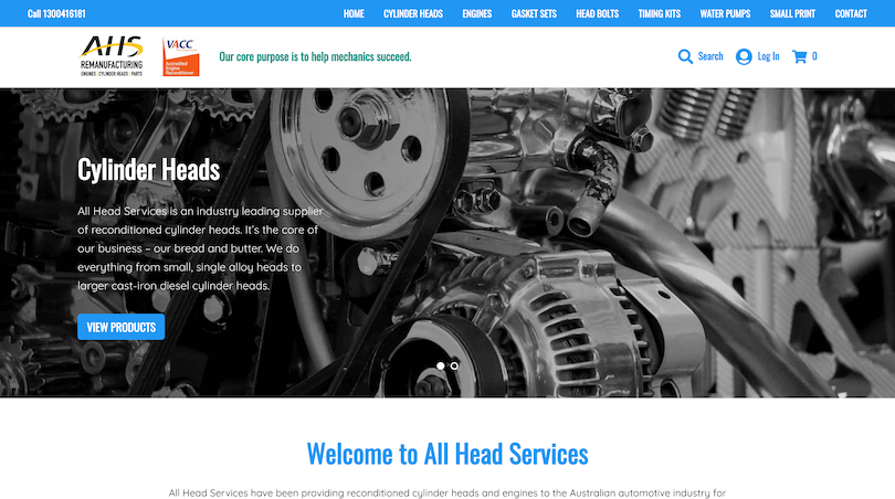 All Head Services Shop
