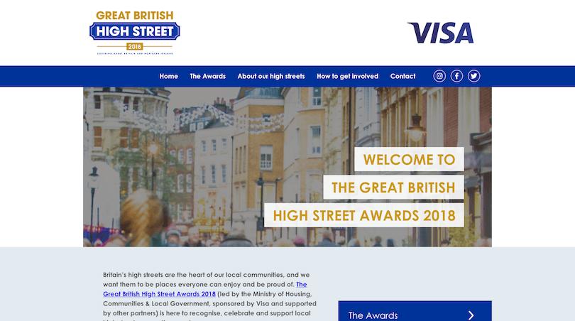 Great British High Street - Visa