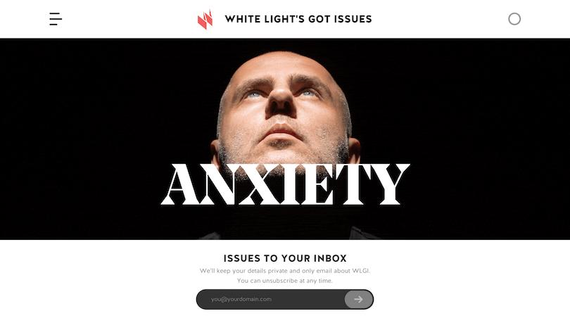 White Light's Got Issues